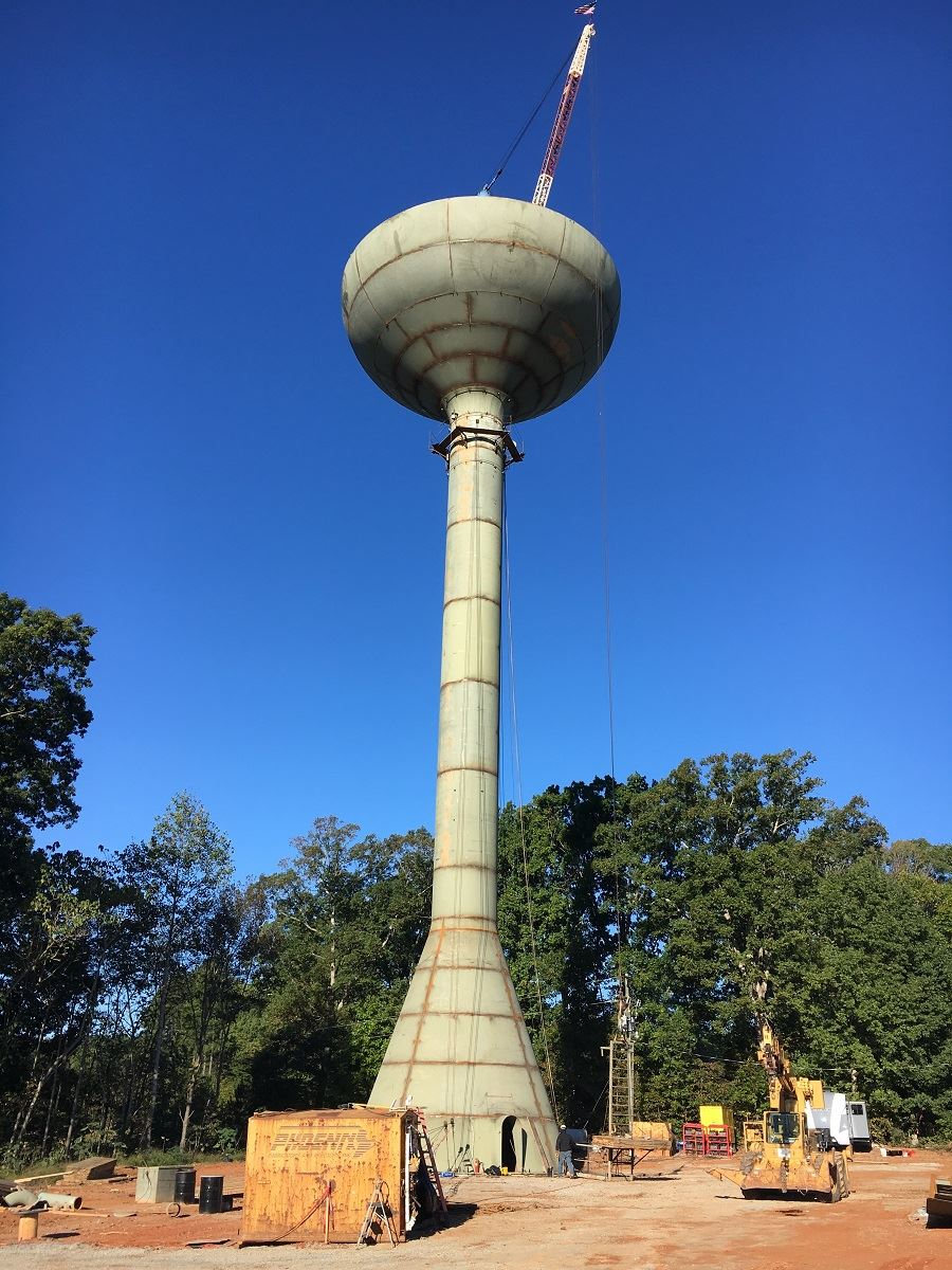 Shared Transportation Facility Water Tower